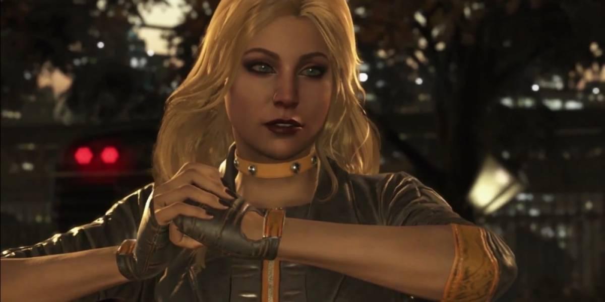 Mira este video con la jugabilidad de Black Canary en Injustice 2
