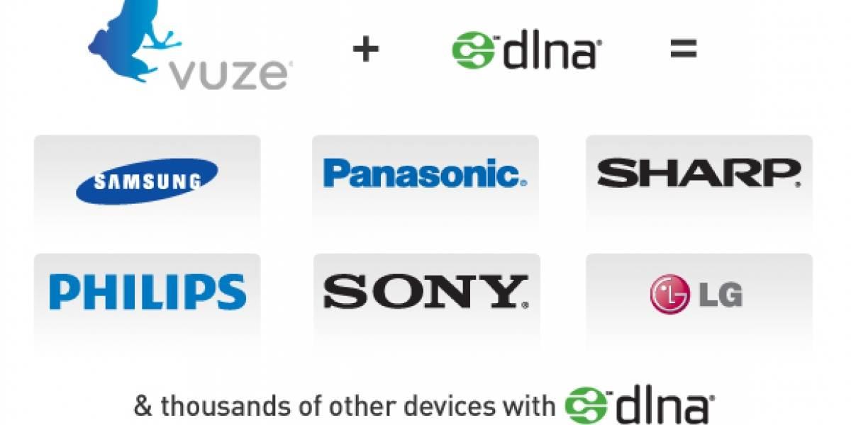 Vuze ahora soporta DLNA, multimedia directo a cientos de aparatos