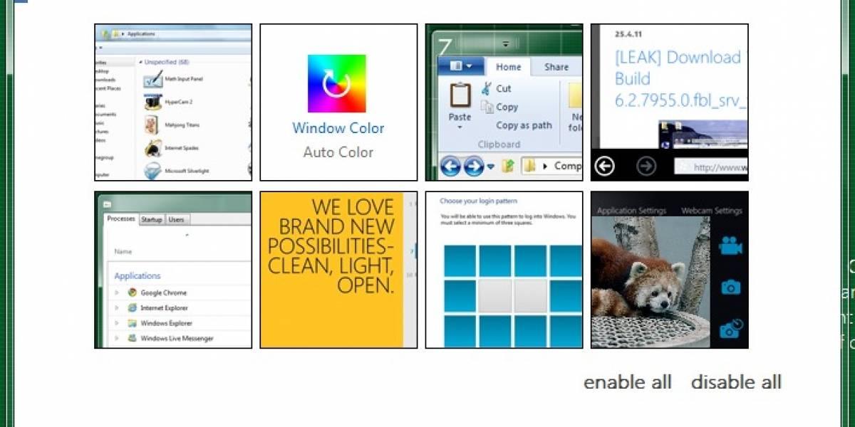 BluePoison se encarga de desbloquear lo oculto de Windows 8