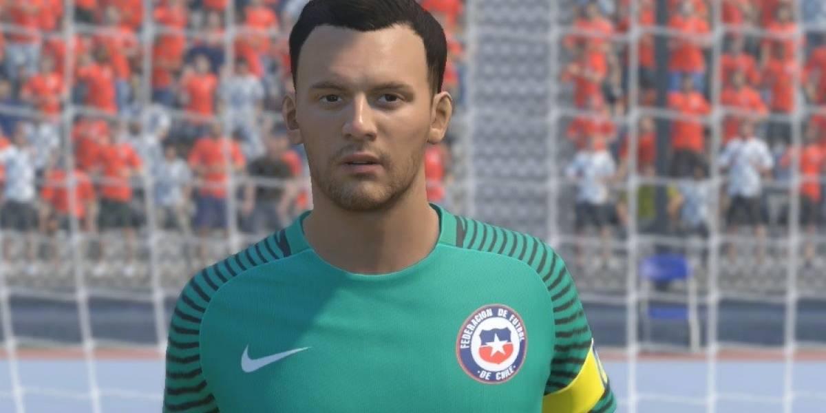 Un invento: Así son las caras de la selección chilena en FIFA 17