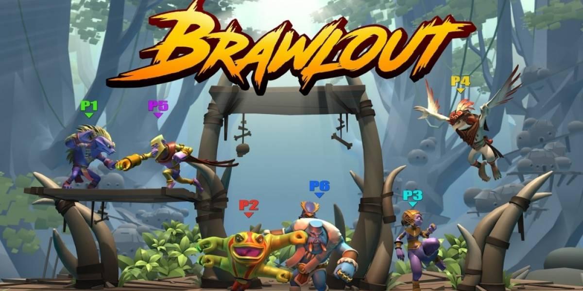 Se anuncia Brawlout, un clon de Super Smash Bros multiplataformas