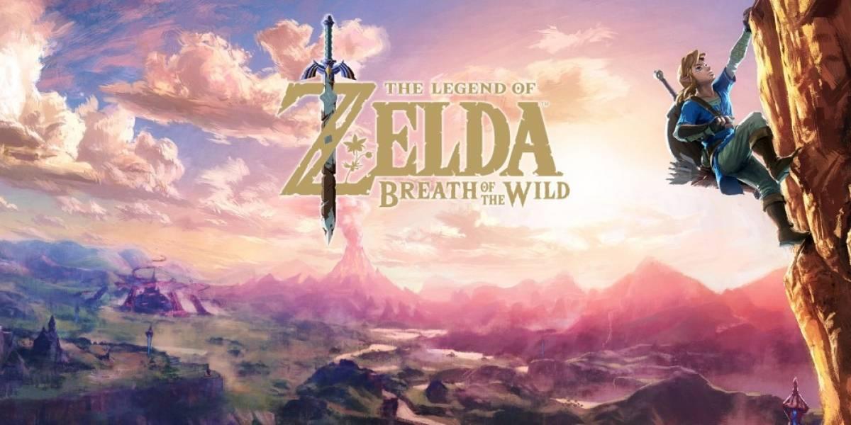 Revelan cuánto espacio ocupará Zelda: Breath of the Wild en la Nintendo Switch