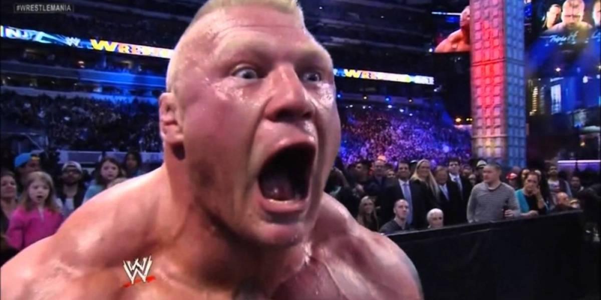 Brock Lesnar estará en la portada de WWE 2K17