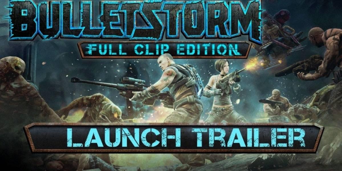 Bulletstorm: Full Clip Edition recibe tráiler de lanzamiento
