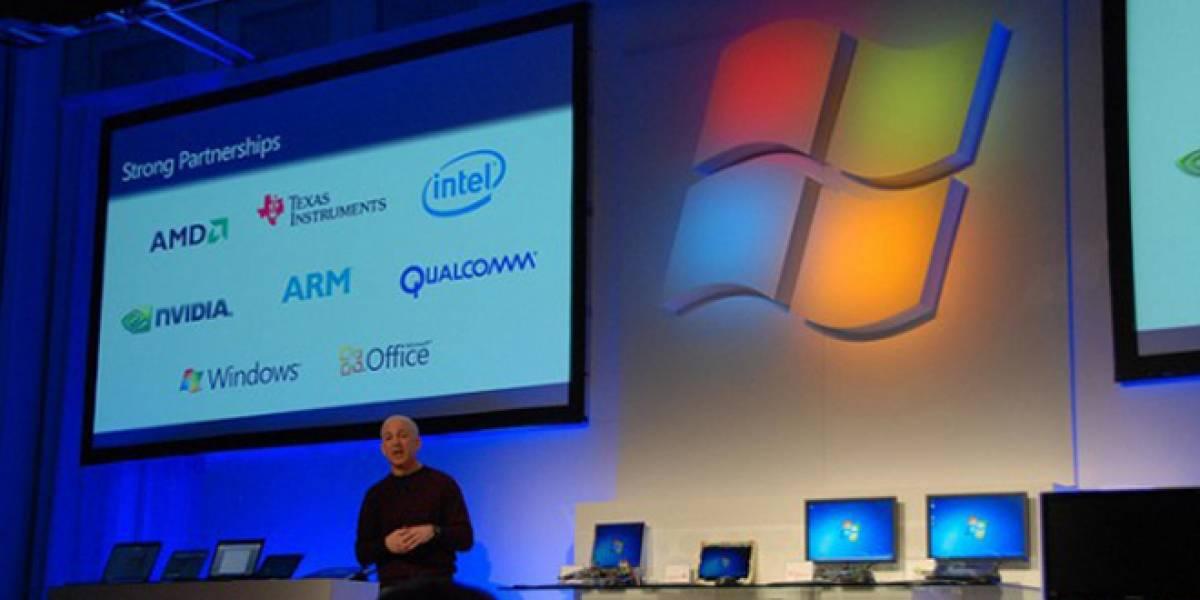 CES 2012: Versión de Windows 8 para ARM podría salir más tarde que para x86