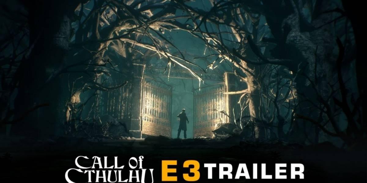 Call of Cthulhu estrena tráiler de E3 2016