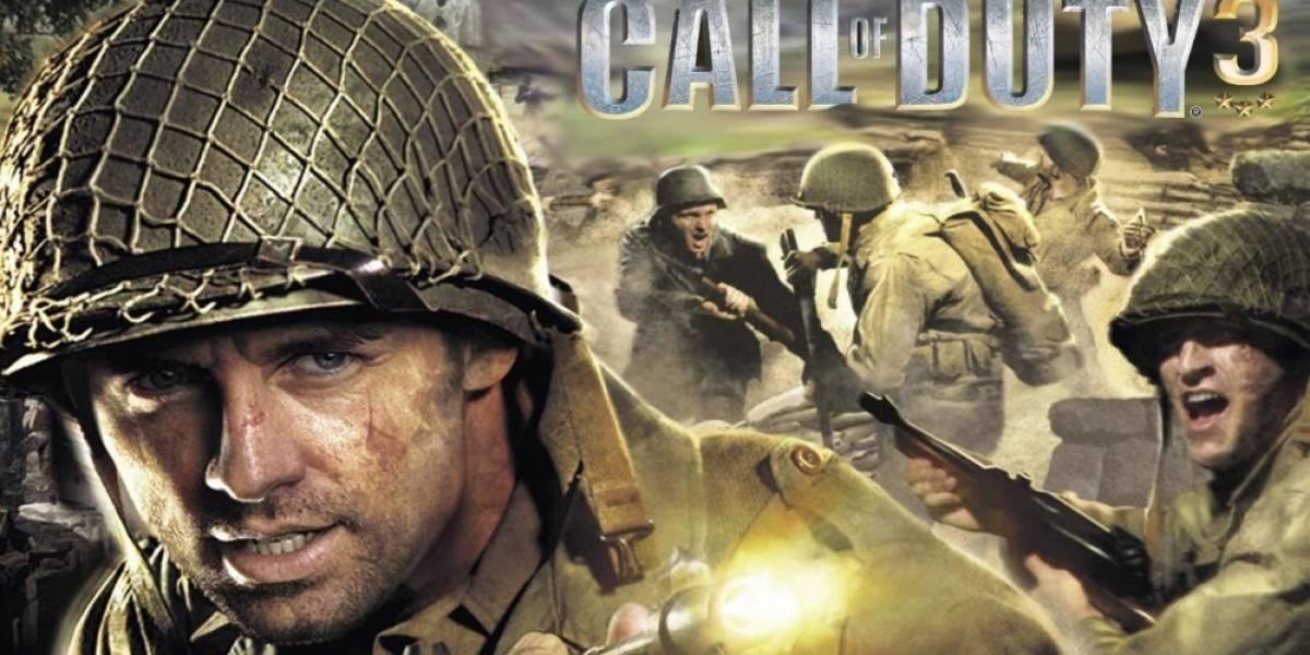 Call of Duty 3 ahora es retrocompatible en Xbox One