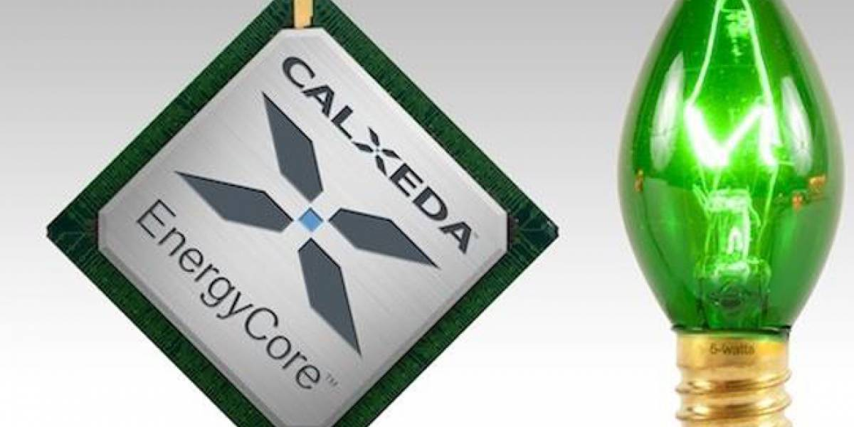 Calxeda muestra un servidor que sería 15 veces más eficiente que uno Intel