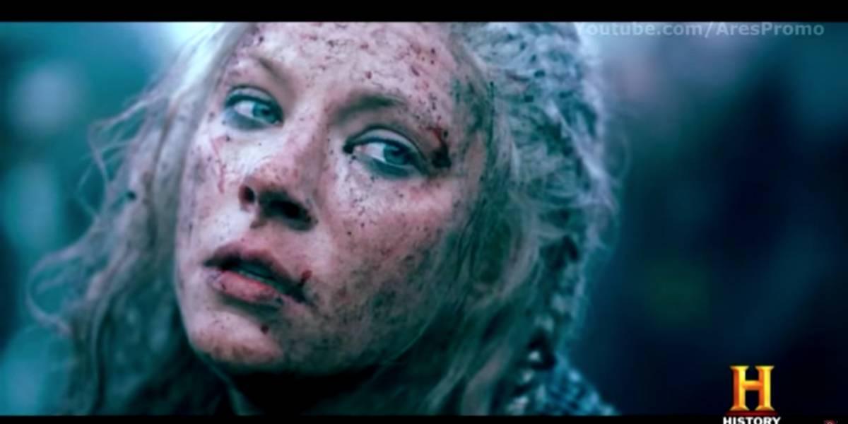 """""""Vikingos"""": Adelanto de la serie revelaría el destino de Lagertha"""
