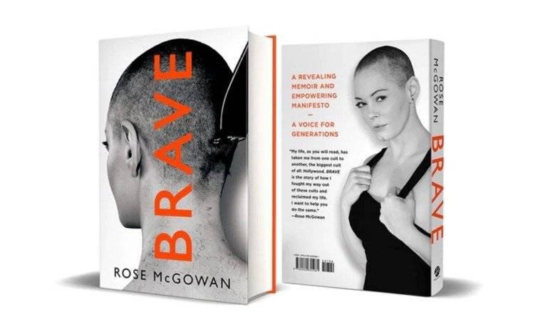 """""""Brave"""" de Rose McGowan"""