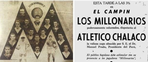 Millonarios 1940