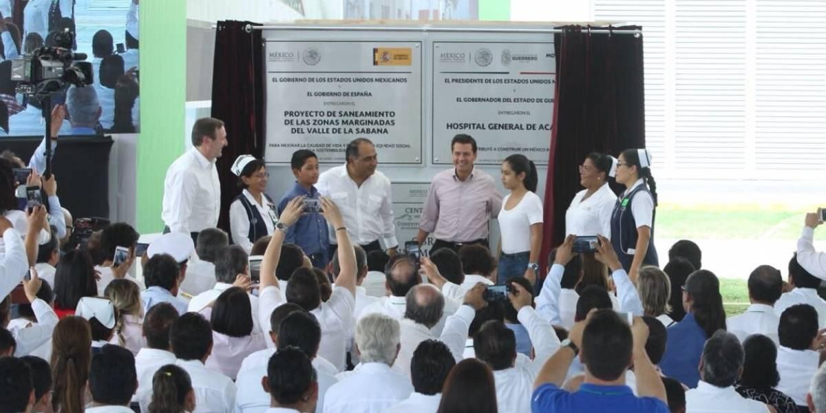 Peña Nieto anuncia nuevos servicios de salud para afiliados al Seguro Popular