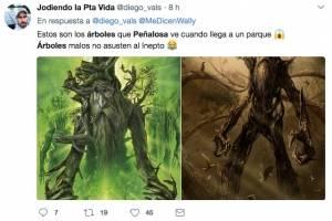 Memes por el trino sobre los árboles del alcalde Peñalosa
