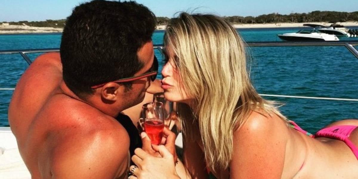 Susana Werner não gostou da volta do marido, Julio Cesar, ao Flamengo: 'tristeza'