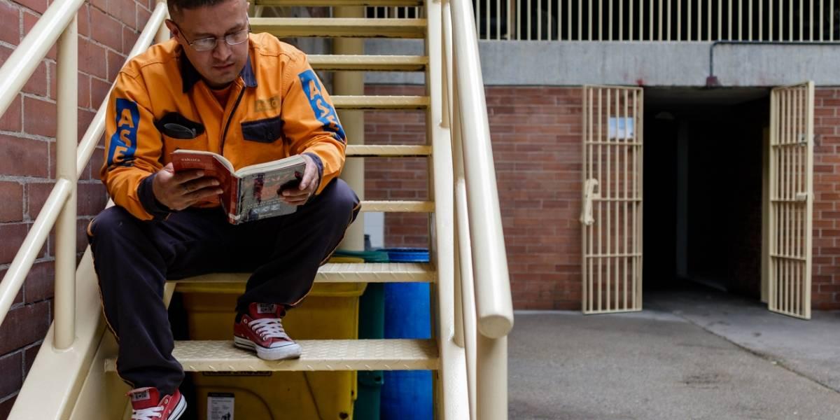 Recorrido al interior de la cárcel donde la lectura es lo más importante