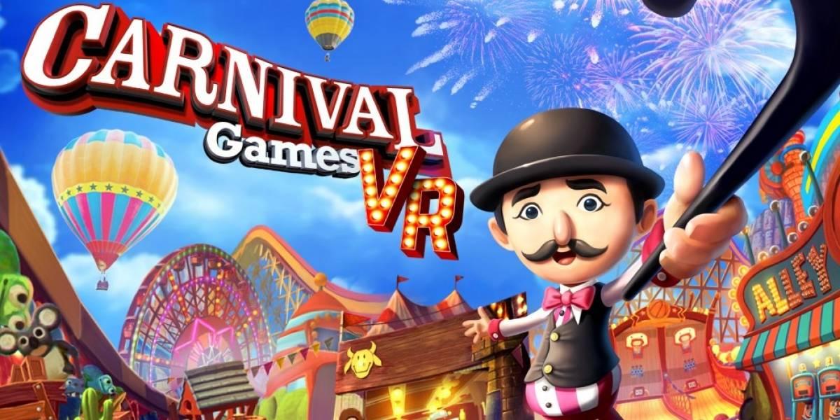 Carnival Games vuelve como juego en realidad virtual