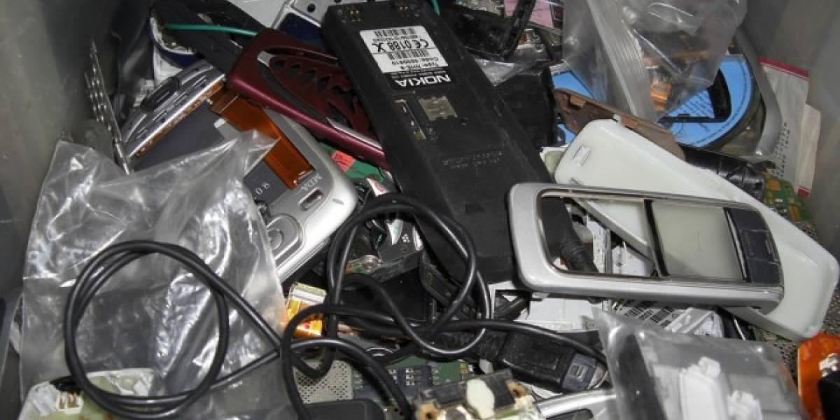Desde Chile enviaron a Japón más de 3.800 celulares para ser reciclados