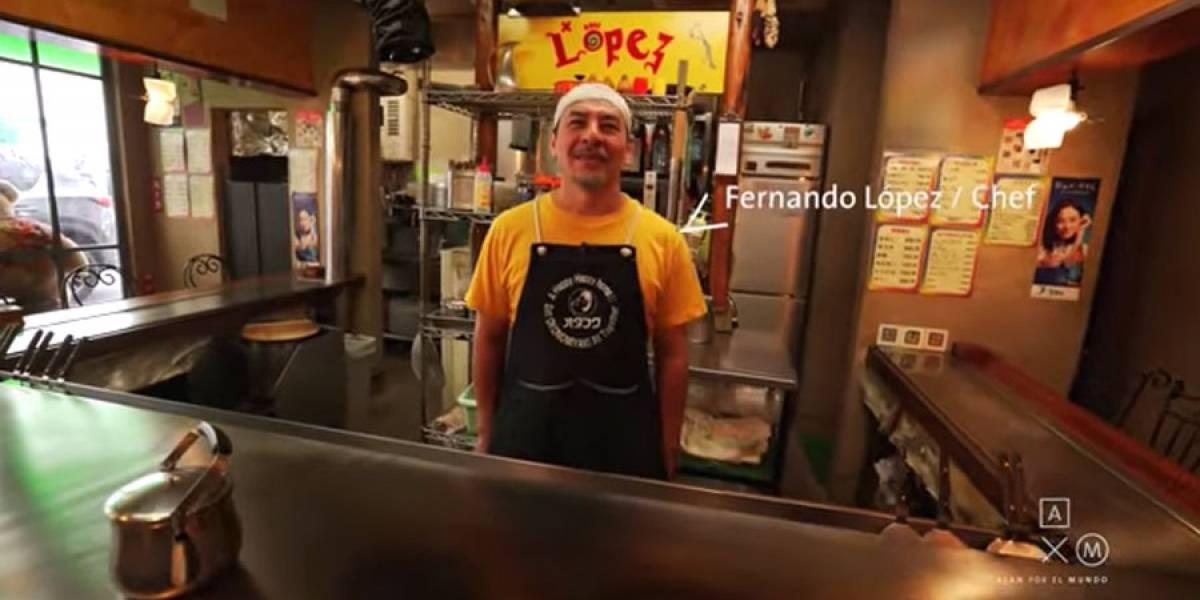 VIDEO. Fernando López, el chef guatemalteco que es muy famoso en Japón