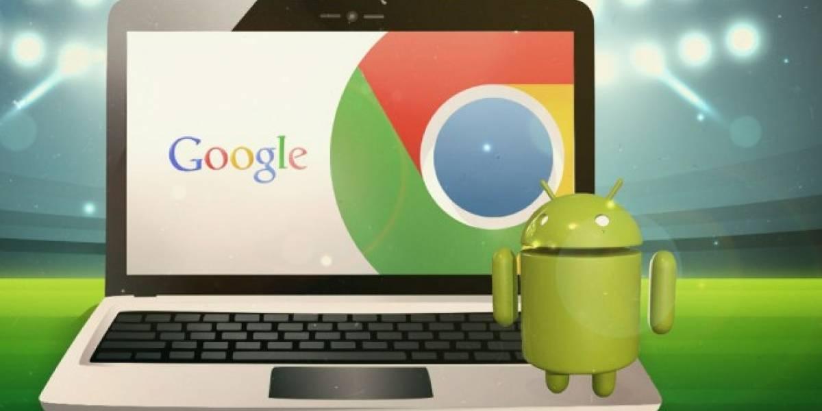 Google ya prueba un híbrido de Android y Chrome OS