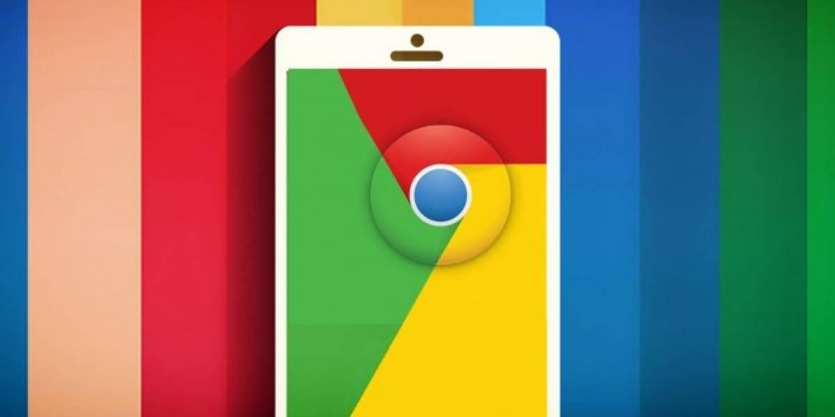 Chrome se actualiza en Android para dejar de drenar tu batería
