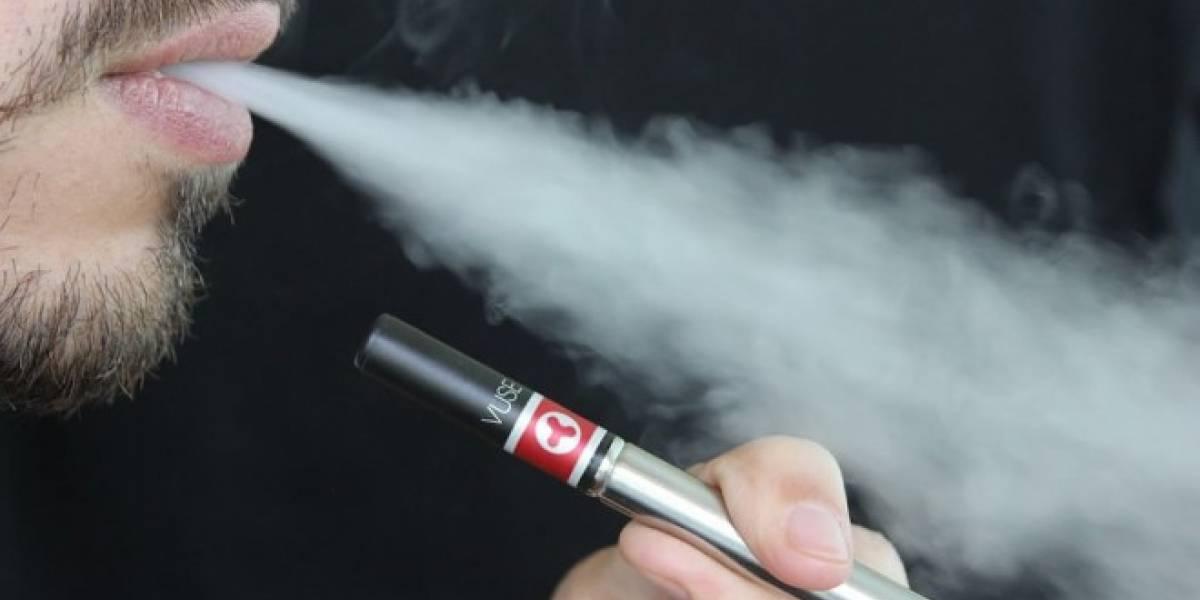 Encuentran dos cancerígenos en el vapor de los cigarros electrónicos