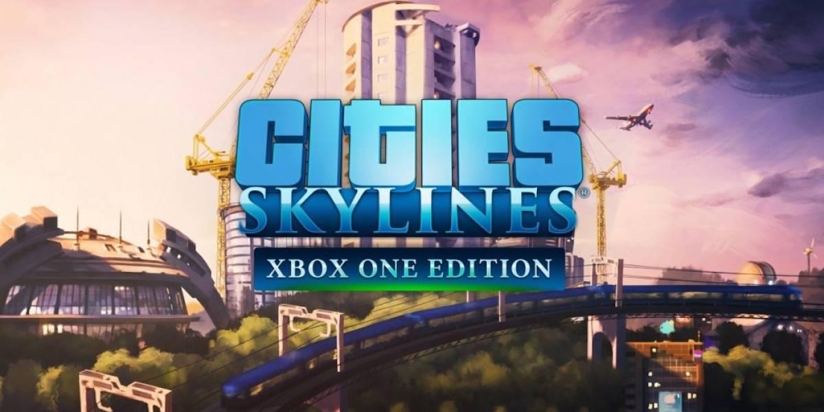 Cities: Skylines se lanzará en versión para Xbox One