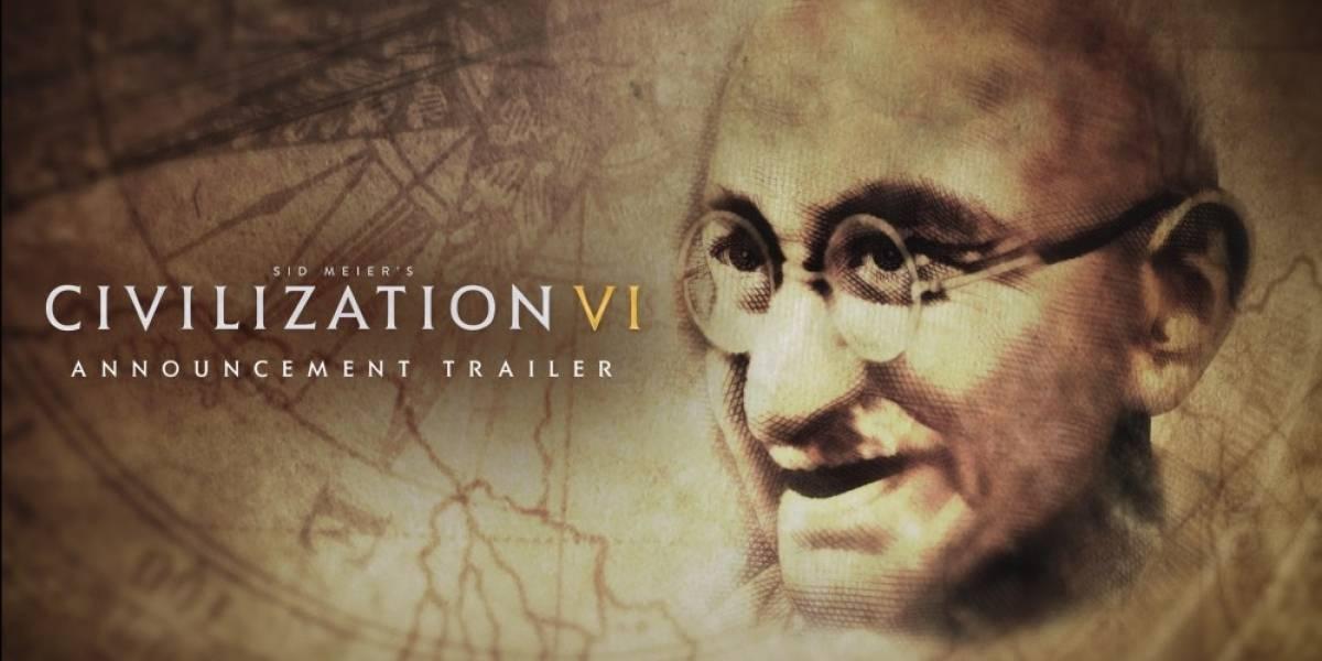 2K Games presenta Civilization VI