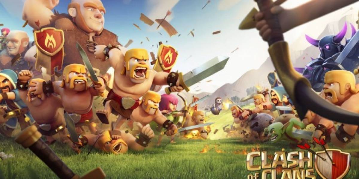 Tencent quiere comprar al desarrollador de Clash of Clans con mucho mucho dinero