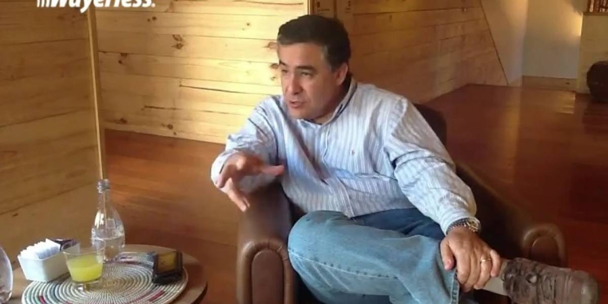 """Claudio Muñoz, Presidente de Telefónica Chile: """"Vamos a buscar reducir los subsidios en los terminales"""""""