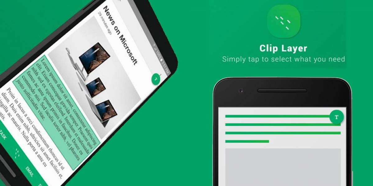 Clip Layer para Android te deja copiar contenido desde cualquier app