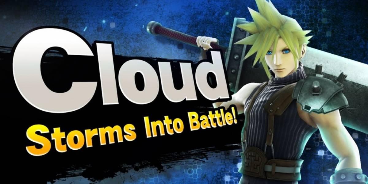 ¡OMG! Cloud Strife de Final Fantasy VII se integra a Super Smash Bros.