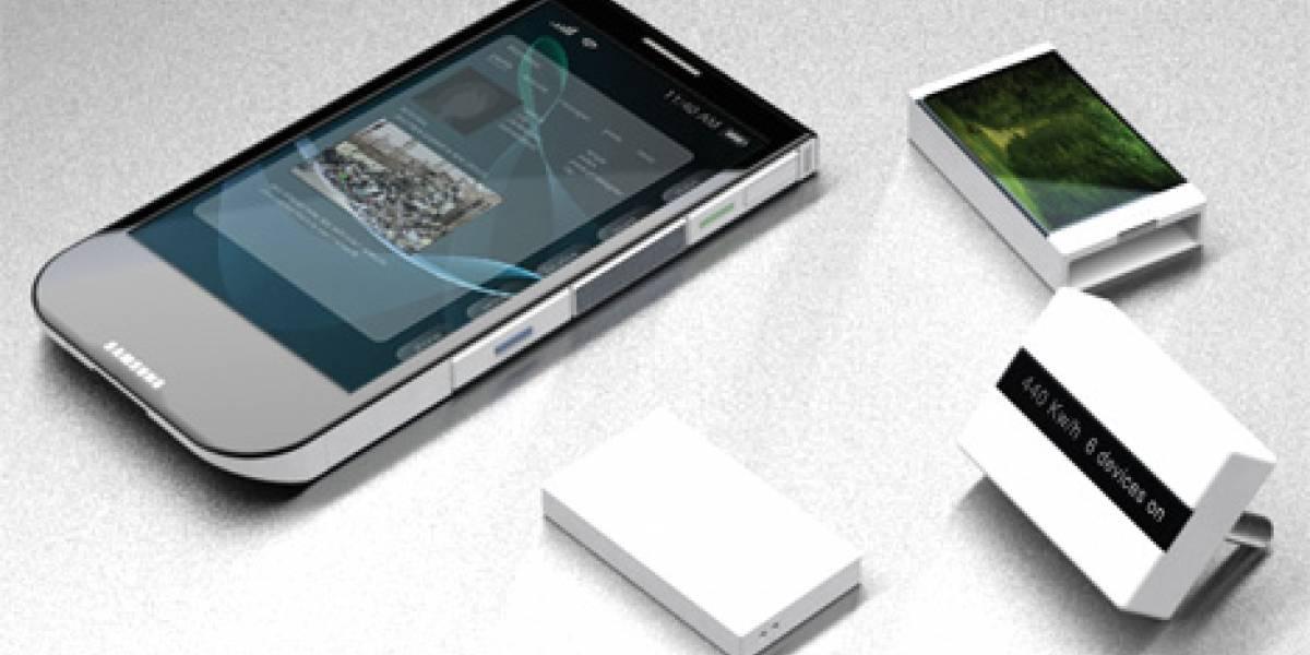 Samsung Clover: Los móviles modulares quieren ver la luz