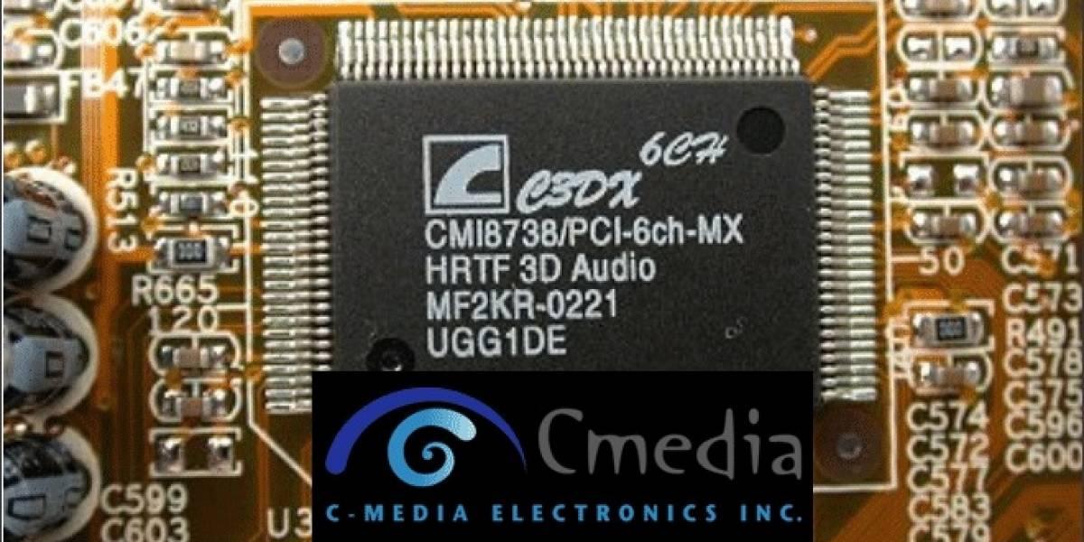 Nuevos controladores para tarjetas de sonido basadas en los chips C-Media