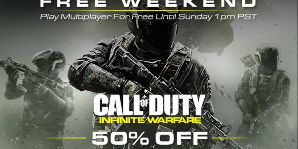 El multijugador de CoD: Infinite Warfare está gratis durante el fin de semana en Steam
