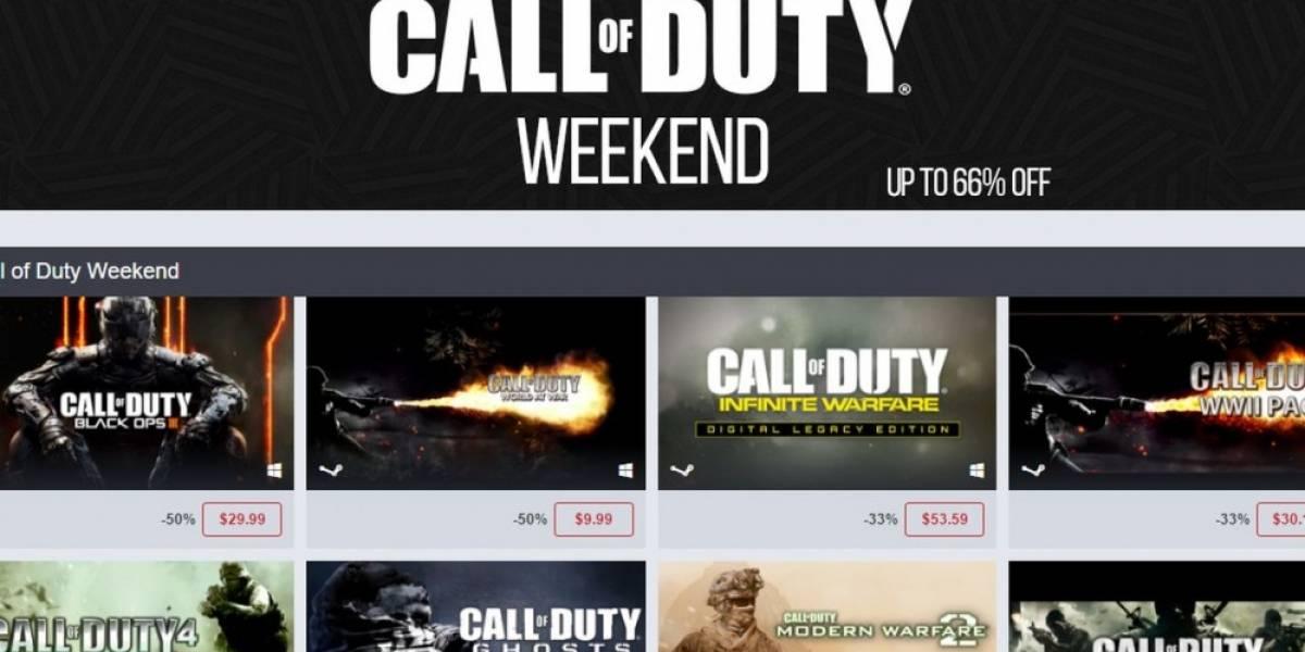 Humble Store tiene venta especial en la franquicia Call of Duty