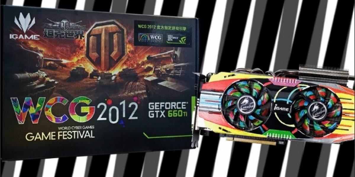 Colorful iGame GTX660 Ti World Cyber Games Edition: Una tarjeta de video llena de color