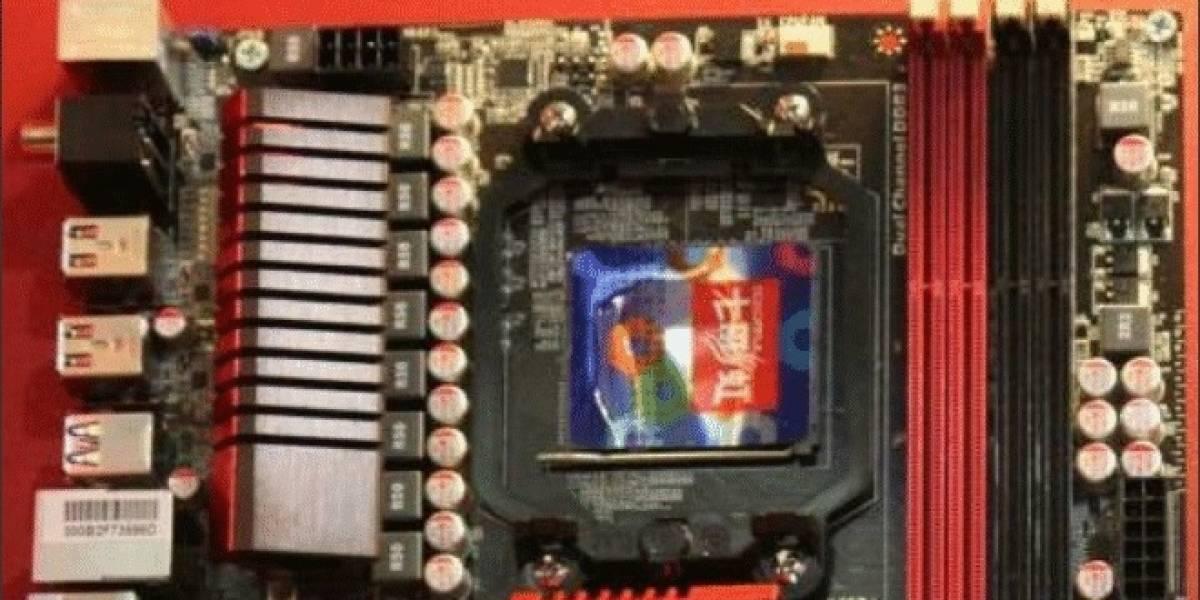 CTX2012: Colorful y Chaintech presentan sus tarjetas madre Z77 X5 y A990FX X7