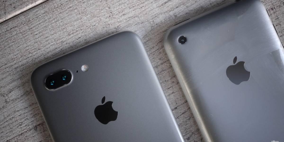 """Nuevas imágenes muestran el porqué de la pantalla """"alargada"""" del iPhone 8"""