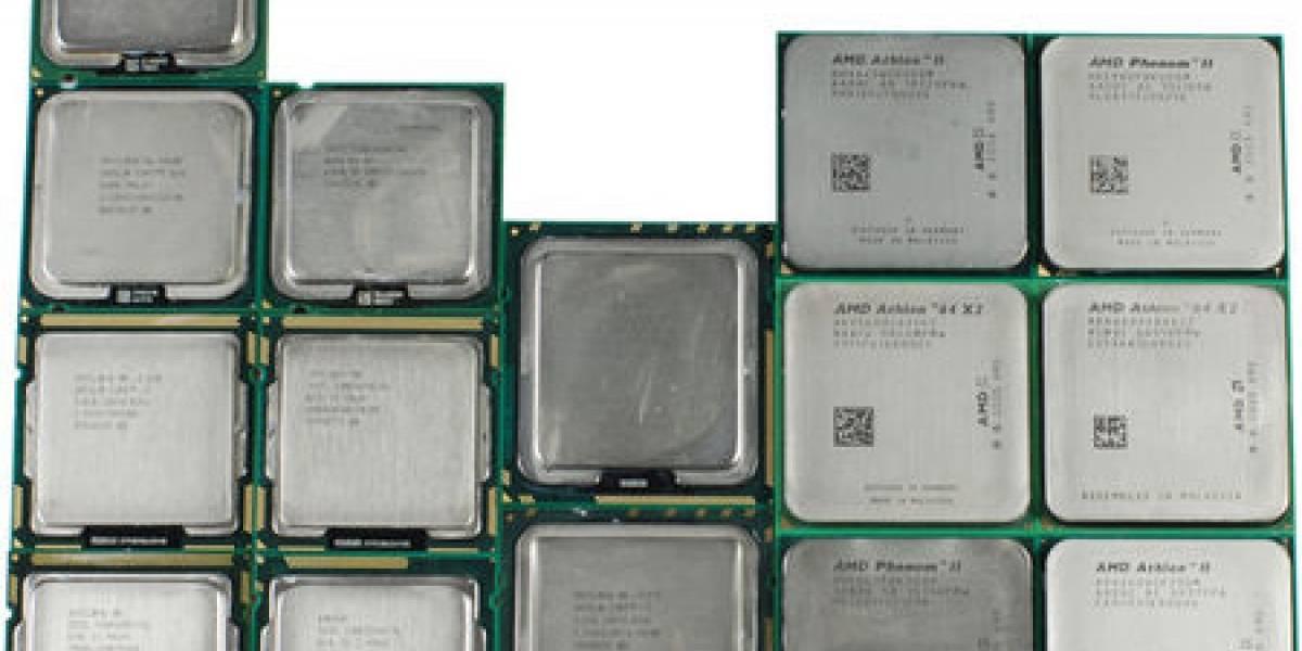 16 procesadores probados con un núcleo y a 3GHz