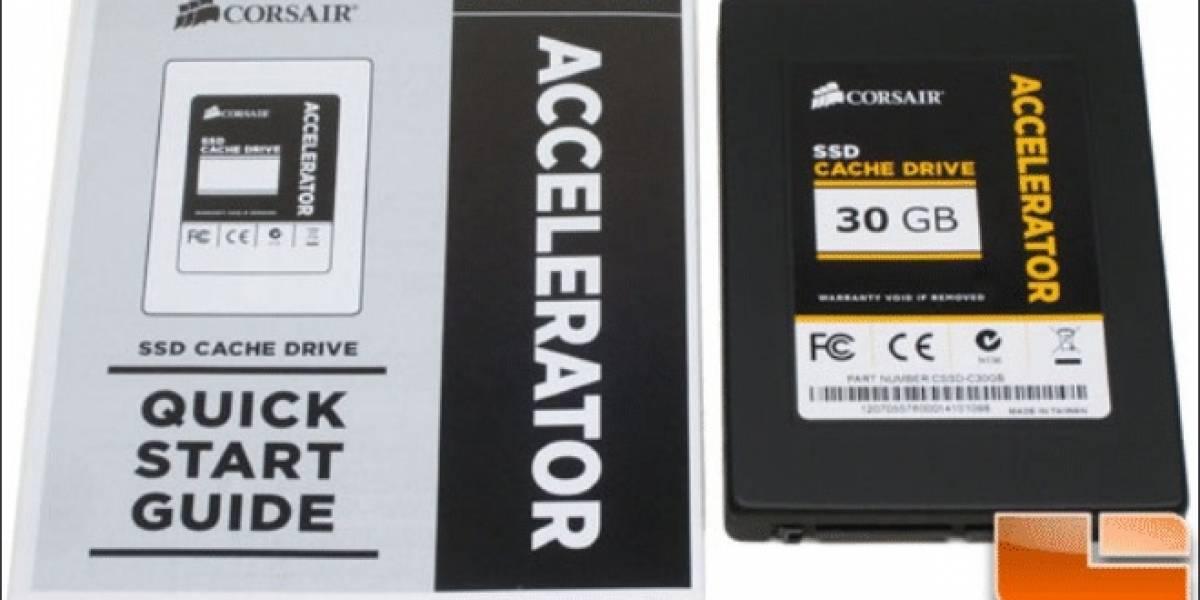 Corsair Accelerator 30GB Sata-2 SSD Cache Drive a prueba