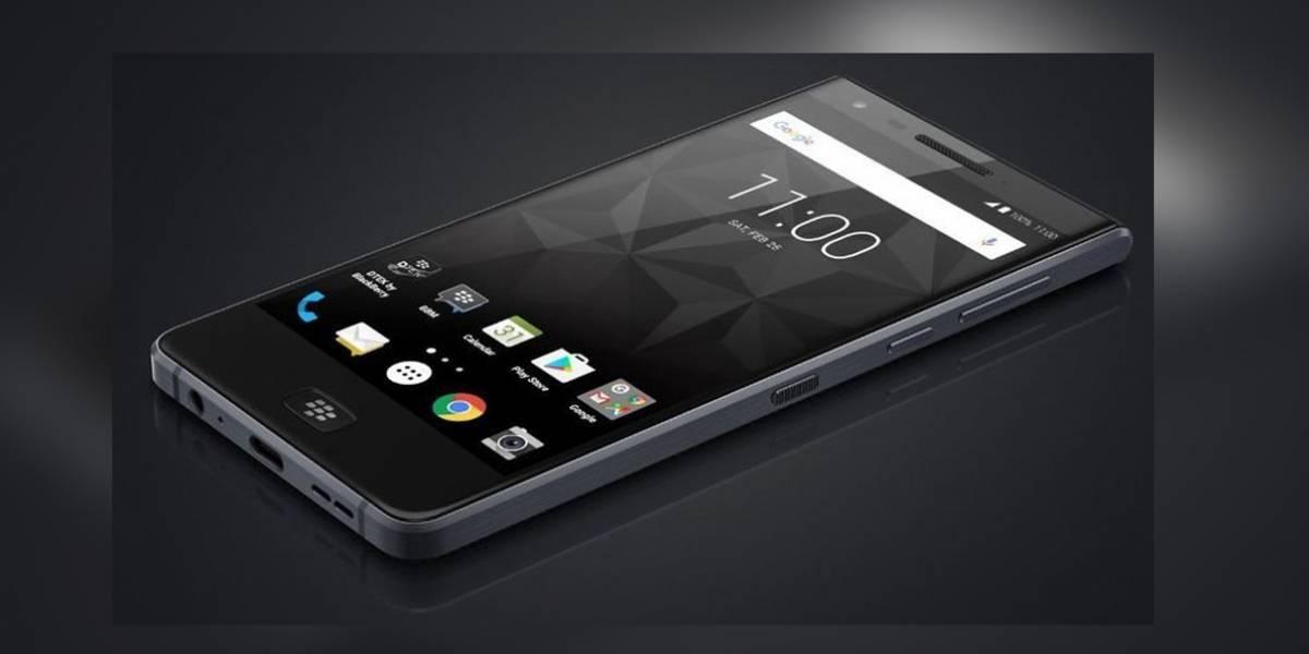 Se revela BlackBerry Motion con una batería brutal y Android Nougat