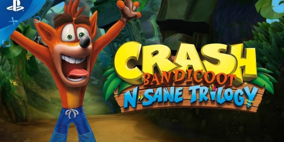 Vean este video con la jugabilidad de Crash Bandicoot N. Sane Trilogy