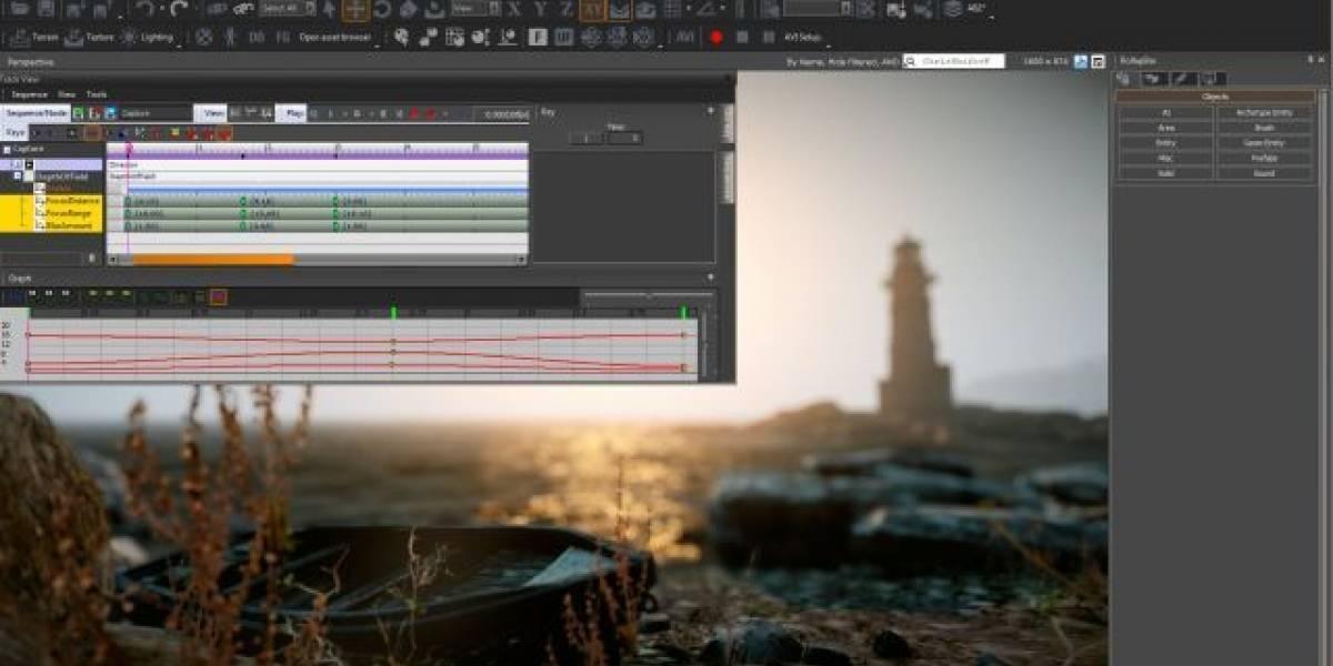Motor gráfico CryEngine 3 ahora es gratis para desarrolladores independientes