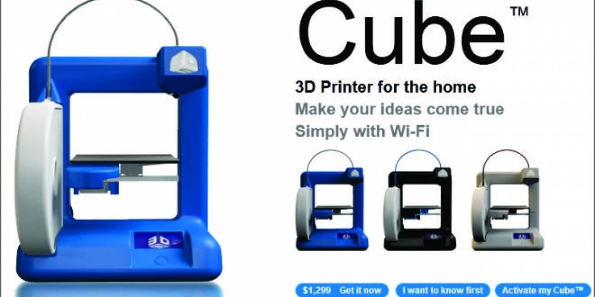 CES 2012: Cube, la impresora 3D inalámbrica de Cubify
