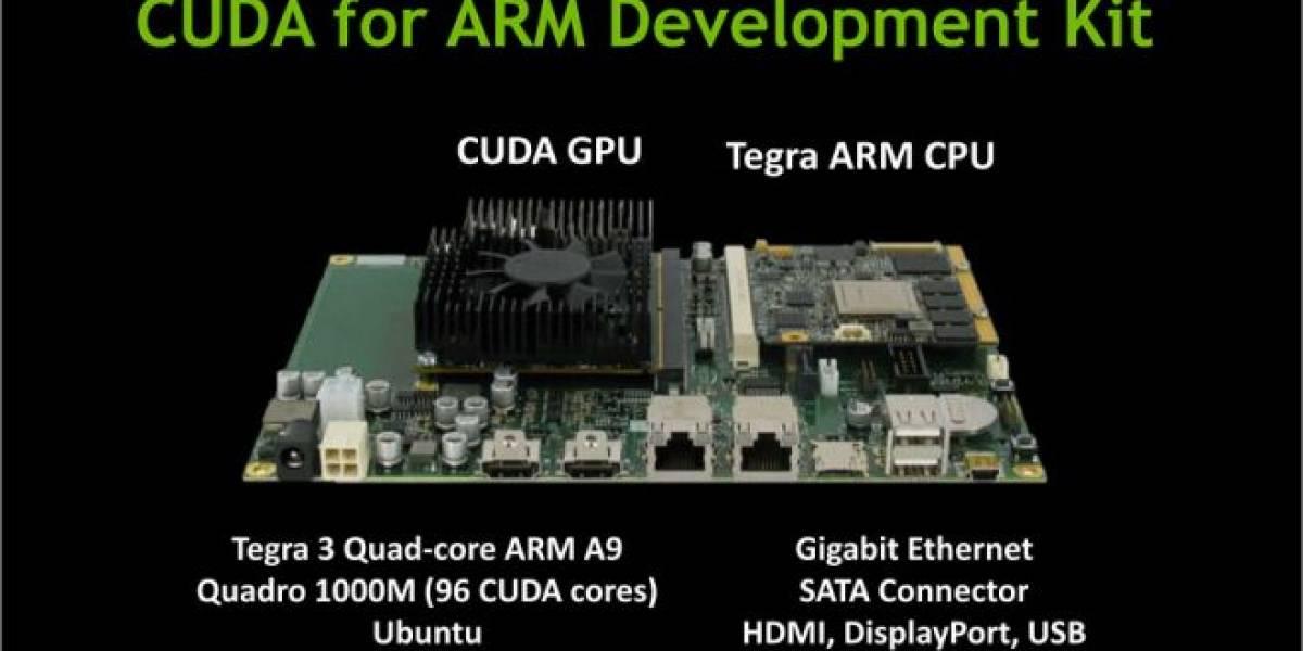 Nvidia da más detalles de su Kit CUDA for ARM
