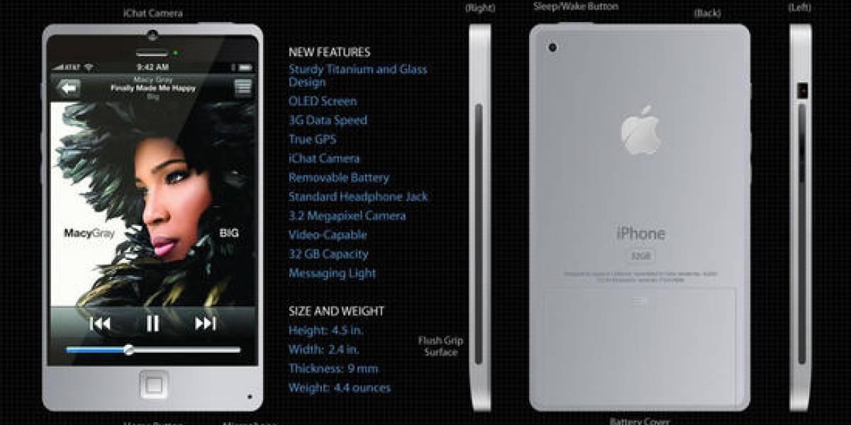 Futurología y concepto para el nuevo iPhone