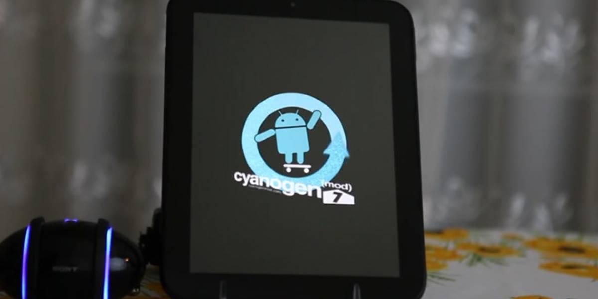 Android llega al TouchPad pero como Alfa