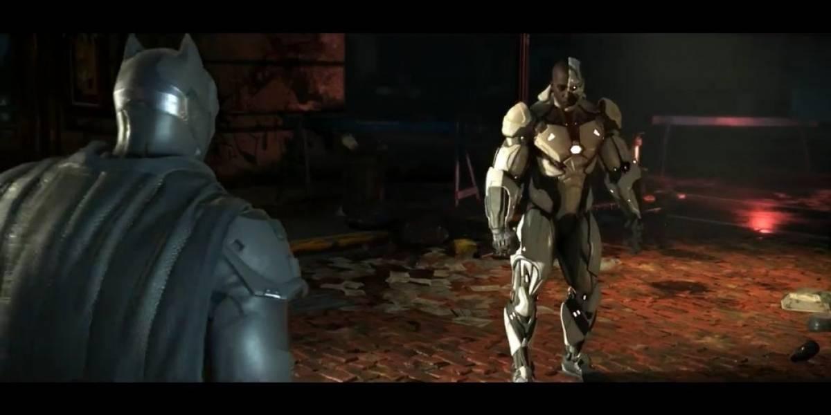 Cyborg es el nuevo personaje de Injustice 2