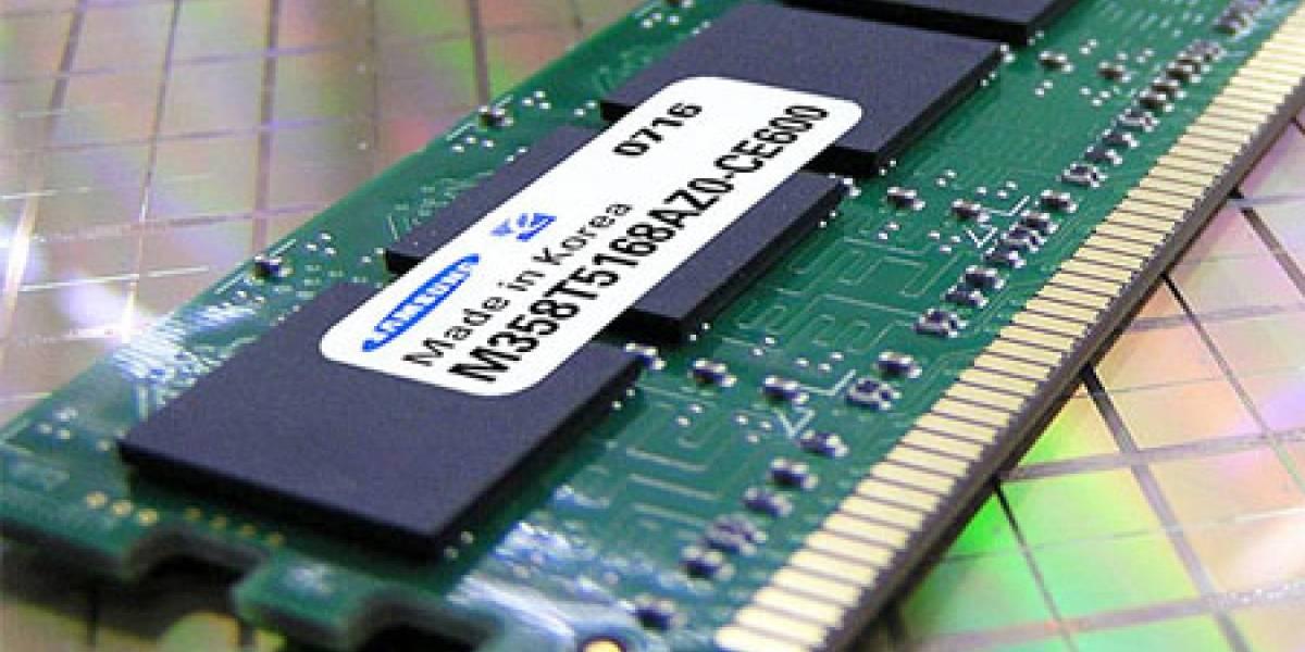 Fabricantes de memorias DRAM sufren crisis de ventas