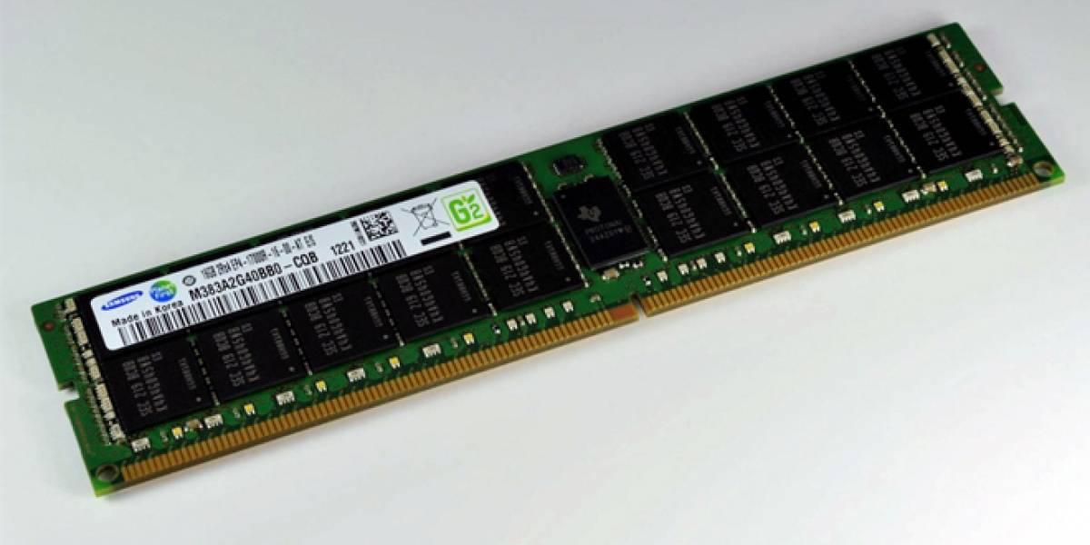 Precios de los módulos de memoria DDR4 serán 30% mayores a los de los módulos DDR3